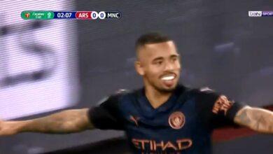 اهداف مباراة مانشستر سيتي وارسنال 4-1 تعليق حفيظ دراجي