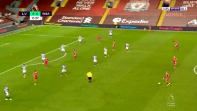 هدف ساديو ماني في مرمى وست بروميتش 1-0 الدوري الانجليزي