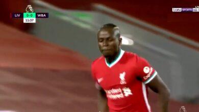 اهداف مباراة ليفربول ووست بروميتش 1-1 الدوري الانجليزي