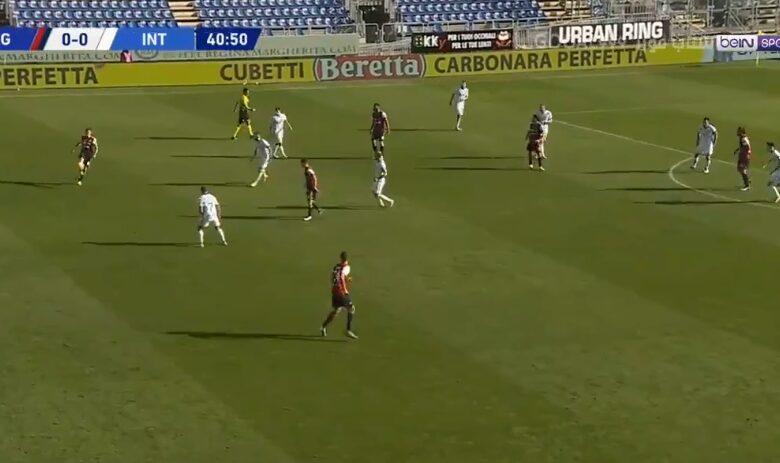 اهداف مباراة انتر ميلان وكالياري 3-1 الدوري الايطالي