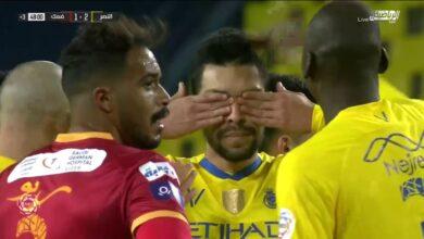 اهداف مباراة النصر وضمك 2-2 الدوري السعودي