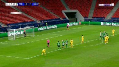 هدف عثمان ديمبلي في مرمى فرينكفاروزي 3-0 دوري ابطال اوروبا
