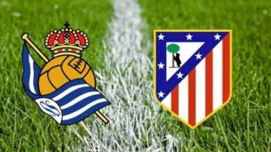 ريال سوسيداد وأتلتيكو مدريد