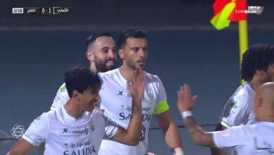 اهداف مباراة الاهلي والفتح 1-0 الدوري السعودي