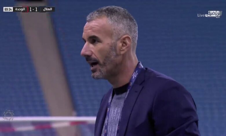 اهداف الوحدة والهلال 2-1 الدوري السعودي