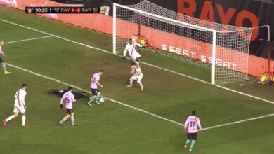 اهداف مباراة برشلونة ورايو فابيكانو 2-1 كأس ملك إسبانيا