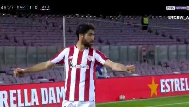 هدف اتليتك بلباو في مرمى برشلونة 1-1 تعليق رؤوف خليف
