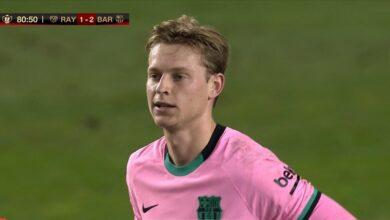 ملخص مباراة برشلونة ورايو فابيكانو في كأس ملك إسبانيا