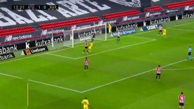 هدف تعادل برشلونة امام اتليتك بلباو 1-1 الدوري الاسباني