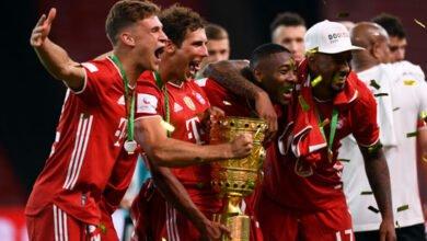 بايرن ميونخ كأس ألمانيا