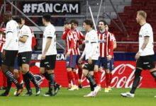 أتلتيكو مدريد - فالنسيا
