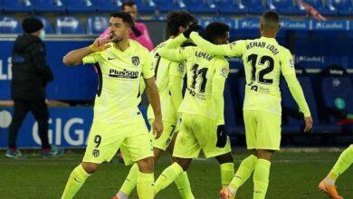 التشكيل المتوقع لـ أتليتكو مدريد أمام هويسكا في الدوري الإسباني