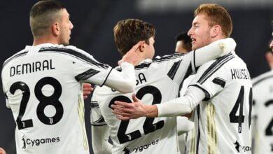 اهداف مباراة يوفنتوس وسبال 4-0 كأس ايطاليا