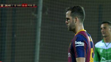 ملخص مباراة برشلونة وكورنيا في كأس ملك إسبانيا