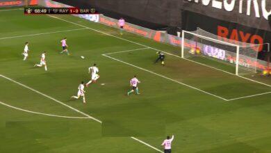 هدف ميسي في مرمى رايو فابيكانو 1-1 كأس اسبانيا