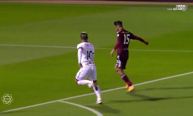اهداف مباراة الشباب والفيصلي 1-1 الدوري السعودي