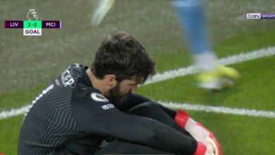 هدف مانشستر سيتي الثاني في مرمى ليفربول 2-1 تعليق حفيظ دراجي