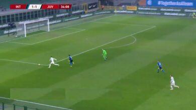 هدف رونالدو الثاني في مرمى انتر ميلان 2-1 كأس إيطاليا