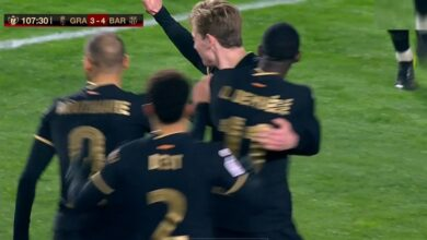 ملخص مباراة برشلونة وغرناطة في كأس ملك إسبانيا