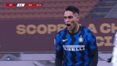 اهداف مباراة يوفنتوس وانتر ميلان 2-1 كأس ايطاليا