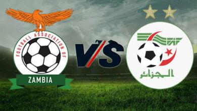 زامبيا والجزائر