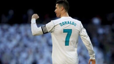 كريستيانو رونالدو بقميص ريال مدريد