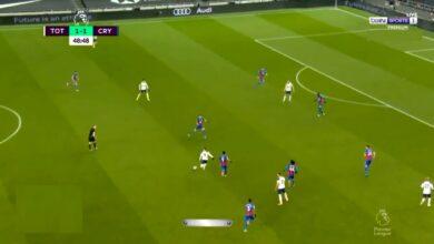 هدف جاريث بيل الثاني في مرمى كريستال بالاس 2-1 الدوري الانجليزي