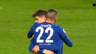 هدف حكيم زياش في مرمى اتليتكو مدريد 1-0 دوري ابطال اوروبا