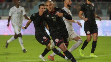 مُنتخبي تونس وليبيا