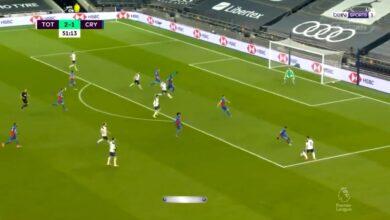 هدف هاري كين الرائع في مرمى كريستال بالاس 3-1 الدوري الانجليزي