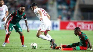 مباراة تونس وغينيا