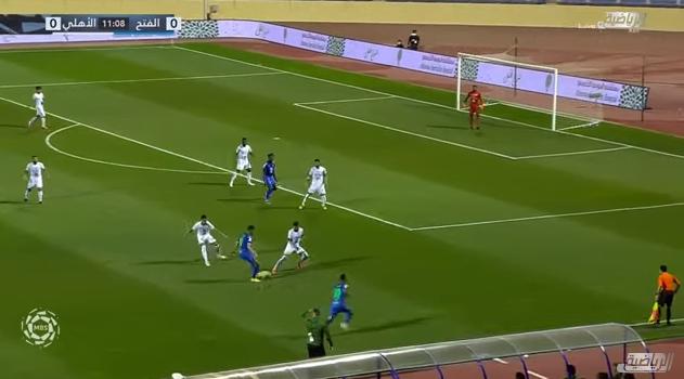 اهداف مباراة الفتح والأهلي 4-1 الدوري السعودي