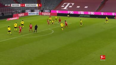 اهداف مباراة بايرن ميونخ وبوروسيا دورتموند 4-2 الدوري الالماني