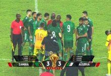 الجزائر وزامبيا