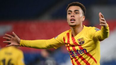 اهداف مباراة برشلونة وباريس سان جيرمان 1-1 دوري ابطال اوروبا