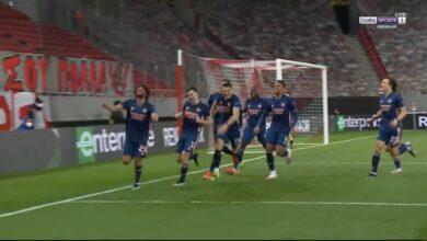 هدف محمد النني في مرمى أولمبياكوس 3-1 الدوري الانجليزي