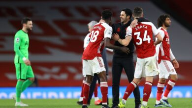 اهداف مباراة آرسنال وتوتنام 2-1 الدوري الانجليزي