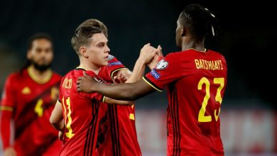منتخب بلجيكا - منتخب روسيا البيضاء