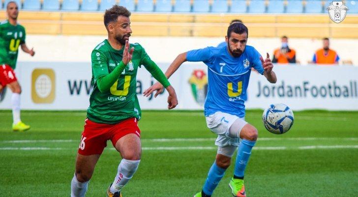 من مُباريات الدوري الأردني
