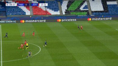 اهداف مباراة بايرن ميونخ وباريس سان جيرمان 1-0 دوري أبطال أوروبا