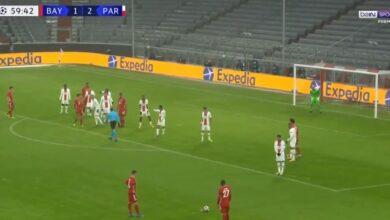 هدف بايرن ميونخ الثاني في مرمى باريس سان جيرمان 2-2 دوري ابطال اوروبا