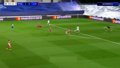 هدف ريال مدريد الثاني في مرمى ليفربول 2-0 تعليق عصام الشوالي