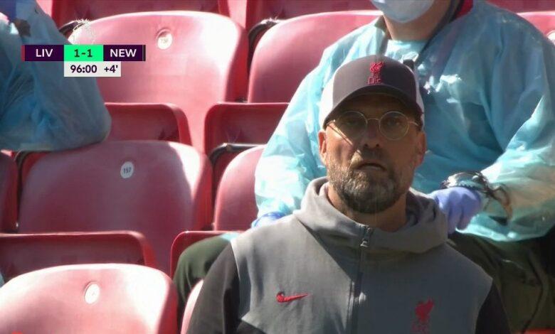 ملخص مباراة ليفربول ونيوكاسل يونايتد في الدوري الانجليزي