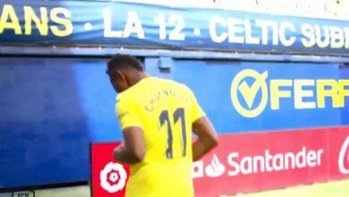 هدف فياريال الاول في مرمى برشلونة 1-0 الدوري الاسباني
