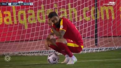 اهداف مباراة الرائد والقادسية 1-0 الدوري السعودي