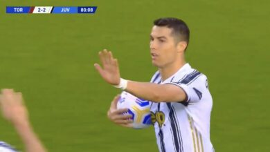 هدف كريستيانو رونالدو في مرمى تورينو 2-2 الدوري الايطالي