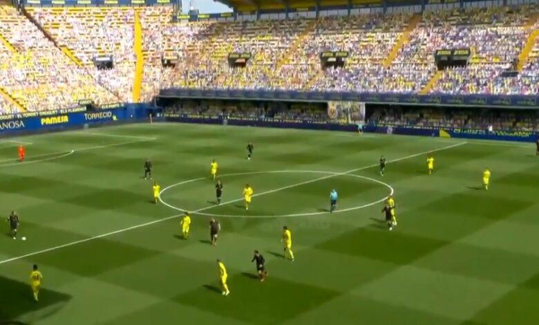 هدف جريزمان في مرمى فياريال 1-1 الدوري الاسباني