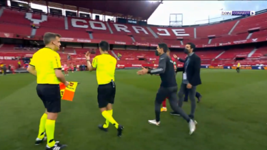 حكم يعود للمباراة بعدما أطلق صافرة النهاية في الدوري الاسباني