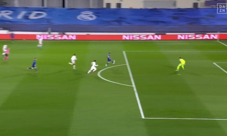 هدف تشيلسي الاول في مرمى ريال مدريد 1-0 دوري ابطال اوروبا