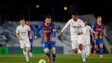 برشلونة - ريال مدريد